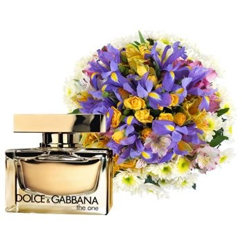 Hints Of Gold with Dolce & Gabbana The One - Perfumes-and-Spa on www.flowerstopetersburg.com