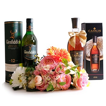 Scotch and Cognac Giftset