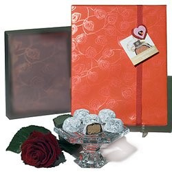 The Classic: A Rose and Chocolates Gift Set