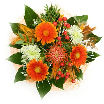 Bursts of Joy - Bouquets on www.flowerstopetersburg.com